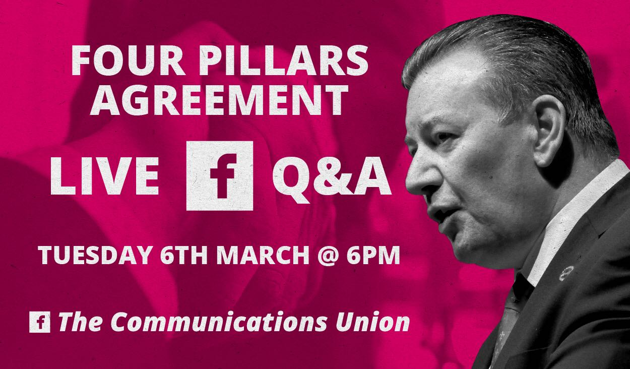 CWU Live Facebook Q&A session (6PM 5th/6th March)